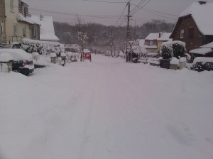 Créhange : 35 cm de neige !