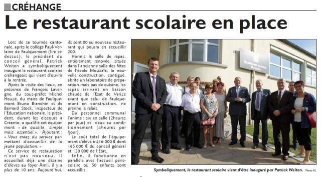 RL 19.09.14 - Inauguration restaurant scolaire