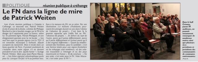 RL 11.12.15 - Réunion publique à Créhange