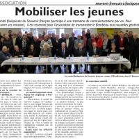 Réunion annuelle du Souvenir Français de Faulquemont le 17 janvier 2016