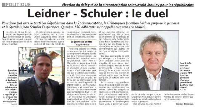 RL 30.01.16 - Leidner-Schuler, le duel